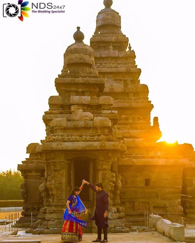 Couple Photography Temple Pondicherry by NDS24x7