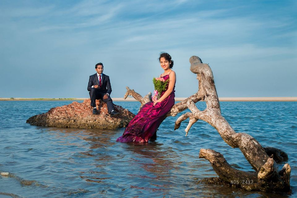 Couple Sea View Photoshoot Trichy