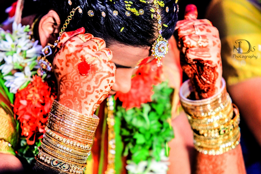 Candid Wedding Photography in Salem by NDS24x7